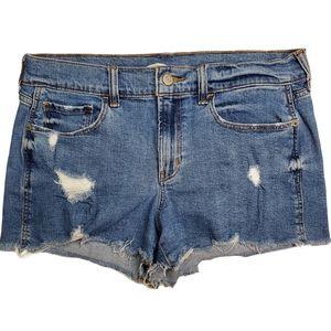 Old Navy Boyfriend Jean shorts Sz 8